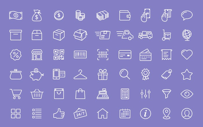 54-free-e-commerce-icons