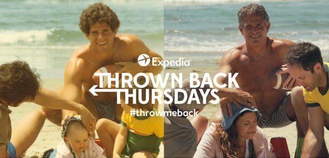 کمپین تبلیغاتی بازگشت به پنجشنبههای شرکت Expedia