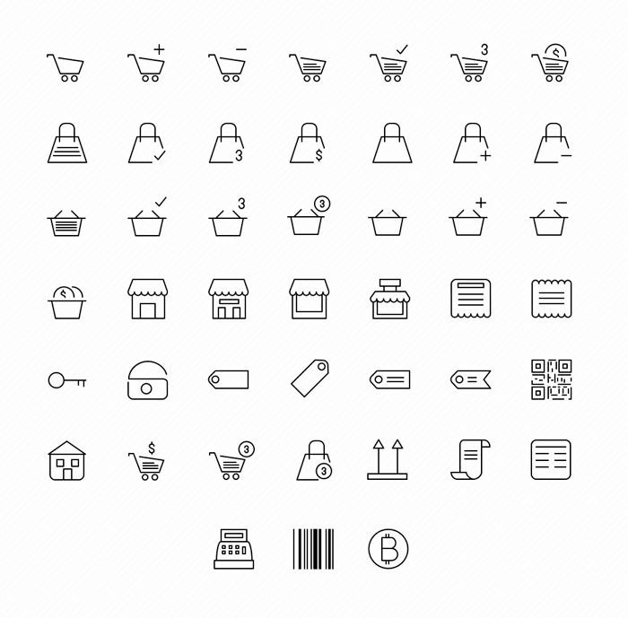 free-45-ecommerce-icons