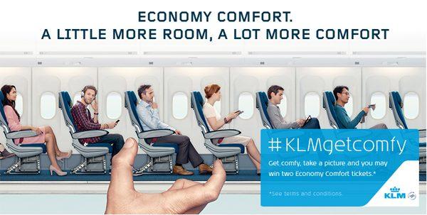 کمپین شرکت هواپیمایی KLM