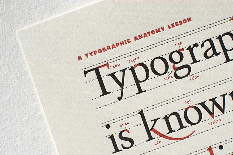 نحوه استفاده از تایپوگرافی