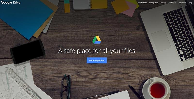 اپلیکیشن گوگل drive