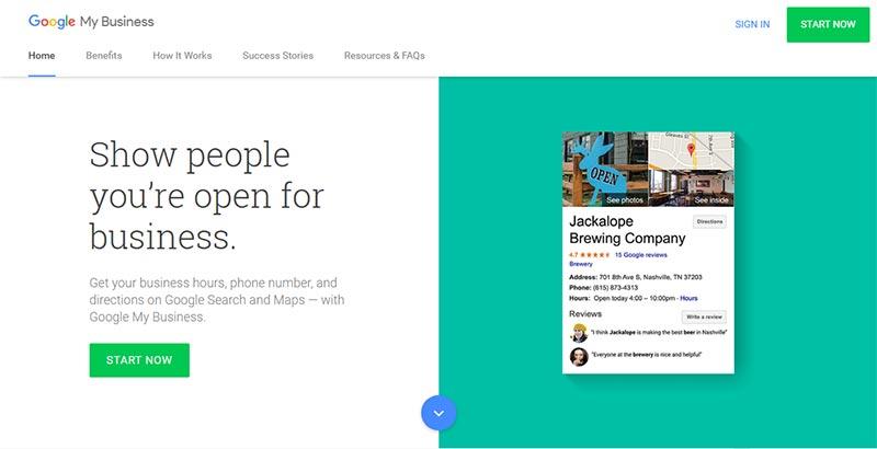اپلیکیشن گوگل google-my-business