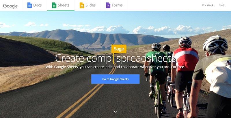 اپلیکیشن گوگل google sheets