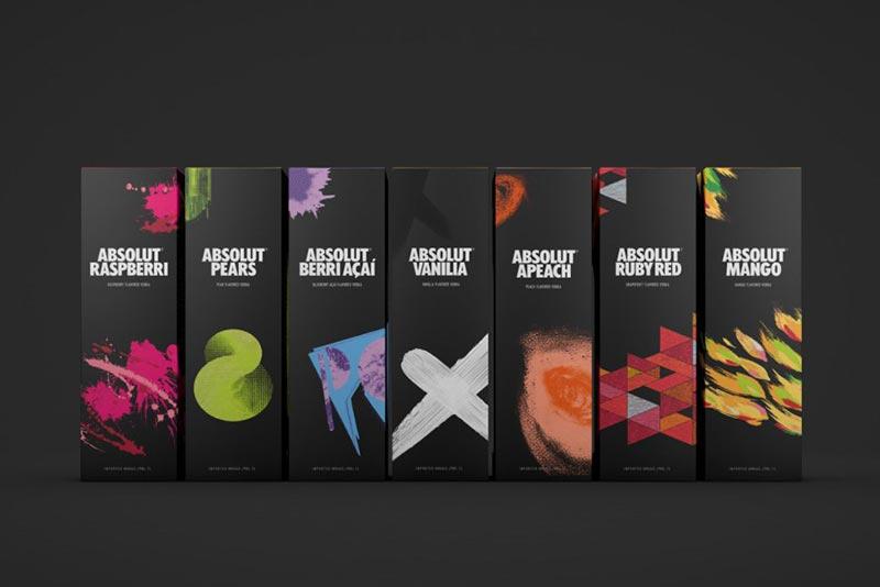 رنگهای شاد و گیرا در طراحی گرافیک