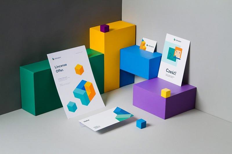 رنگ های زنده و جسورانه در طراحی گرافیک