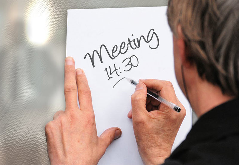 برای اعضای جلسه دعوتنامه ارسال کنید
