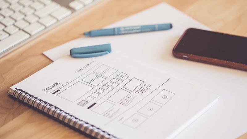 طراحی وب سایت برای استارت آپ