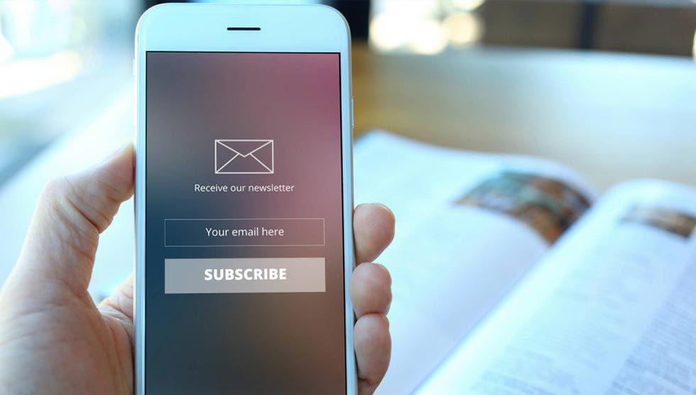 طراحی خبرنامه ایمیلی