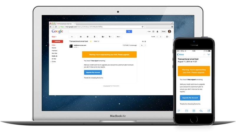 ایمیلهایتان برای موبایل طراحی نشدهاند