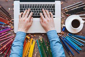 تفاوت طراح گرافیک با طراح بصری