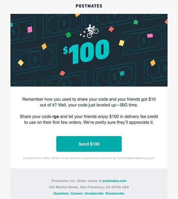 دکمه CTA در قالب ایمیل
