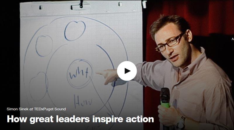 سخنرانی Simon Sinek در برنامه TED