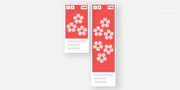سایز تصاویر تبلیغاتی در Pinterest