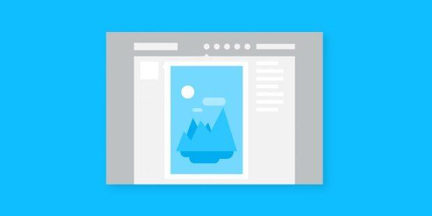 سایز تصاویر داشبورد در Thumblr