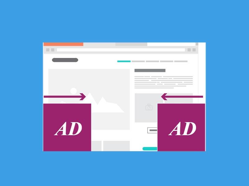 تبلیغاتی که از دو طرف ظاهر می شوند