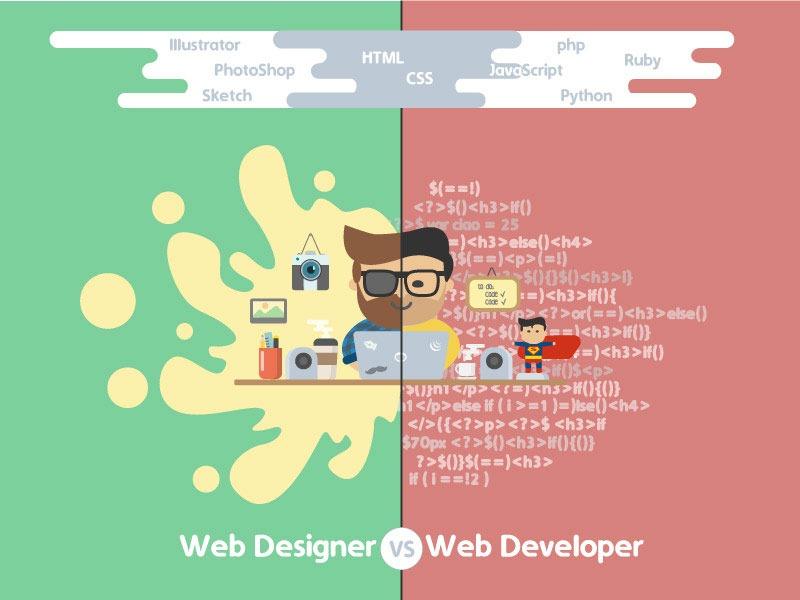 توسعه دهنده و طراح وب