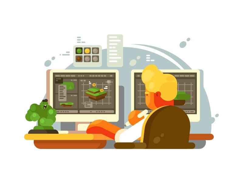 طراح وب web designer