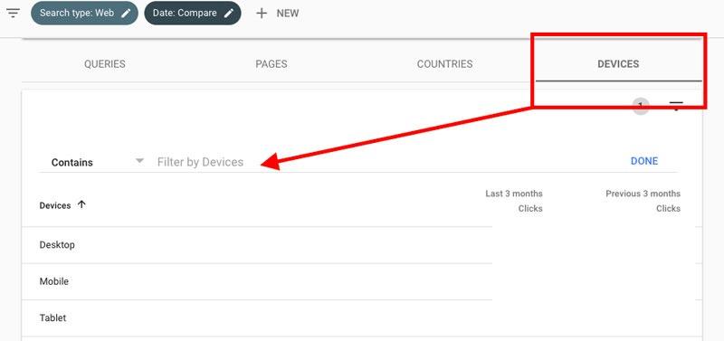 عملکرد وب سایت در دستگاه های مختلف