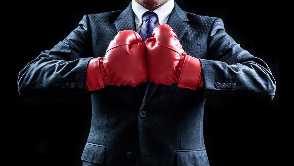 مبارزه کردن در محل کار
