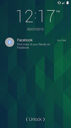 facebook push notification