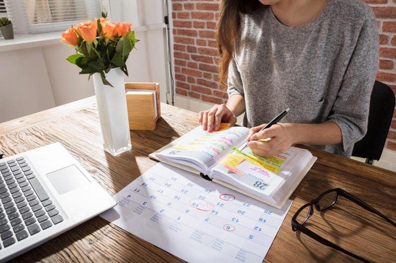 برای انتشار محتوا تقویم داشته باشید