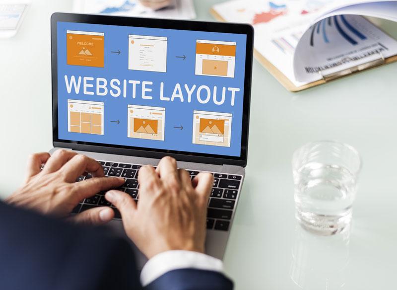 ظاهر وب سایت