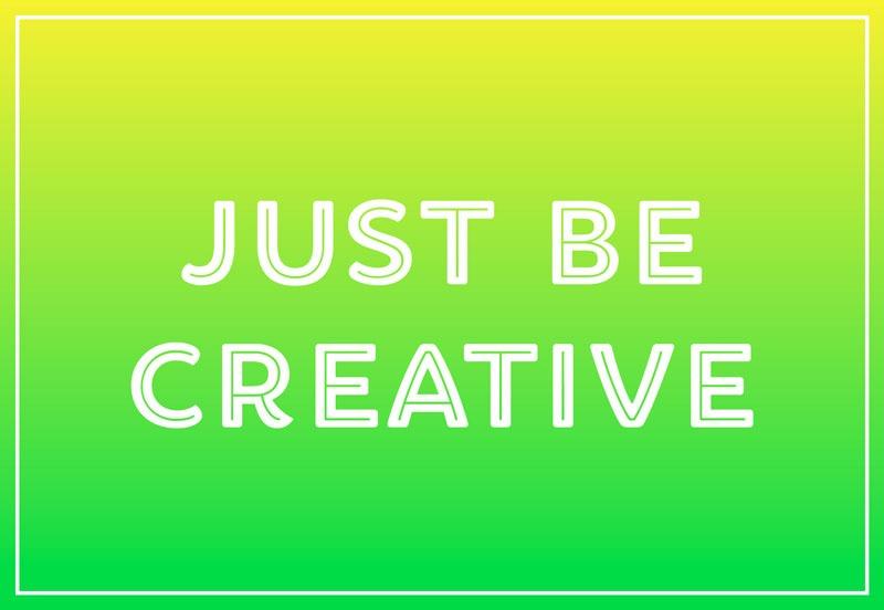 خلاقانه باشد