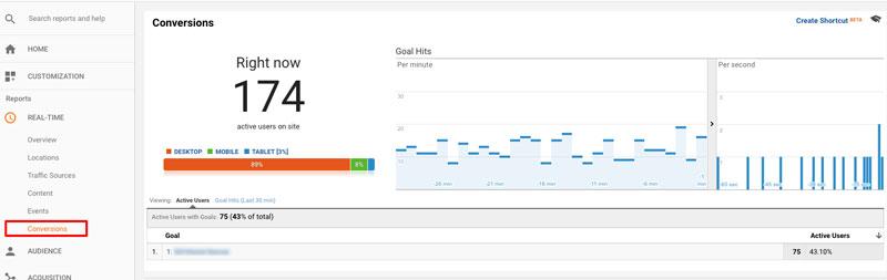 نکات تعیین هدف در گوگل آنالیتیکس