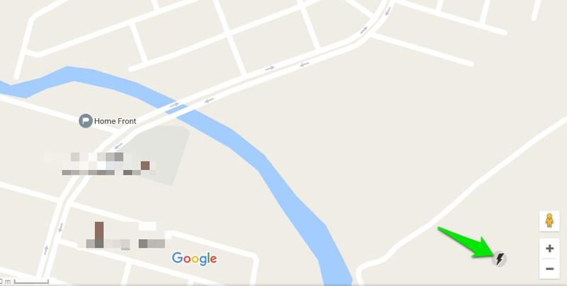 وضعیت lite mode گوگل مپ