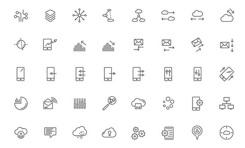 300 آیکون رایگان تکنولوژی از وب سایت Swifticons