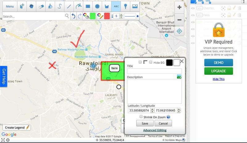 ایجاد نقشه های شخصی در گوگل مپ