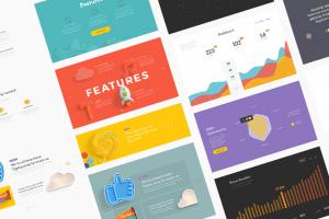 بهترین کیت های رایگان برای طراحی رابط کاربری در موبایل و وب