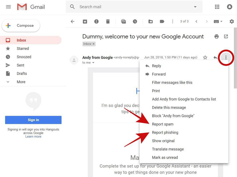 report-phishing-spam-emails-gmail