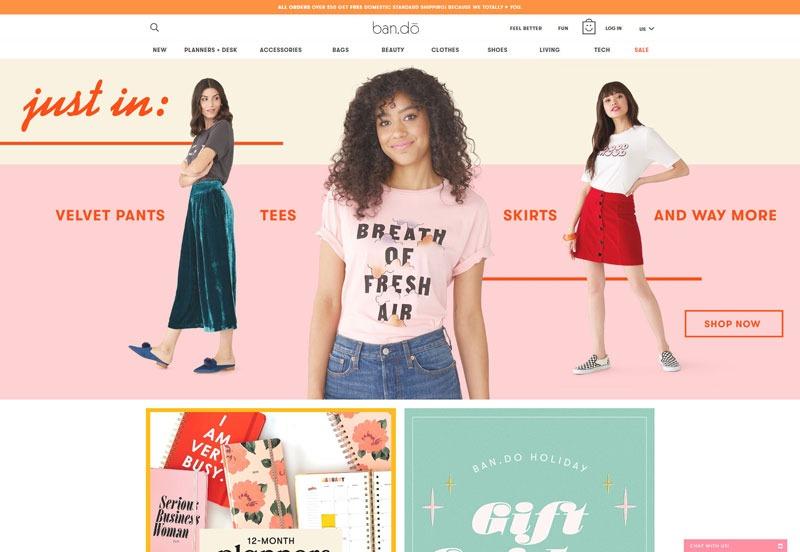 عناصر جذاب در طراحی وب سایت