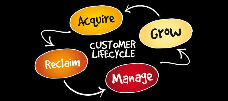 پیروی از چرخه عمر مشتری