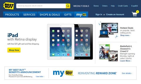 فروشگاه اینترنتی Best buy