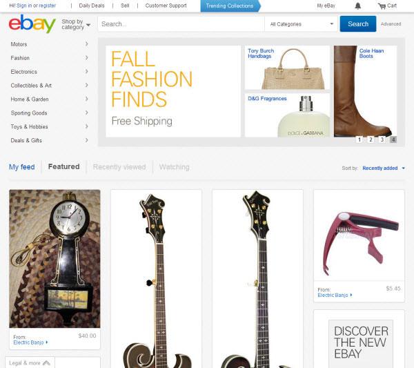 فروشگاه اینترنتی ebay