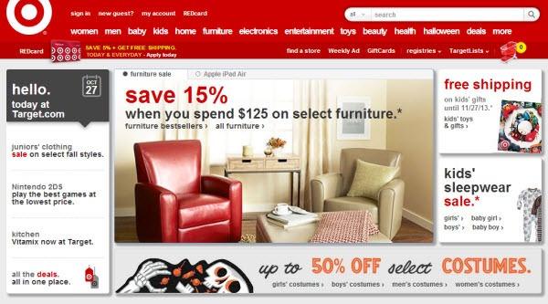 فروشگاه اینترنتی Target
