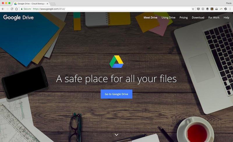 Dropbox یا Google Drive