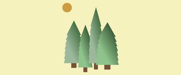 ساخت انیمیشن درخت