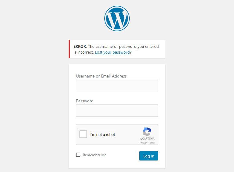 نمیتوانید وارد صفحه مدیریت وبسایتتان شوید