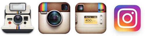 تغییرات لوگو اینستاگرام