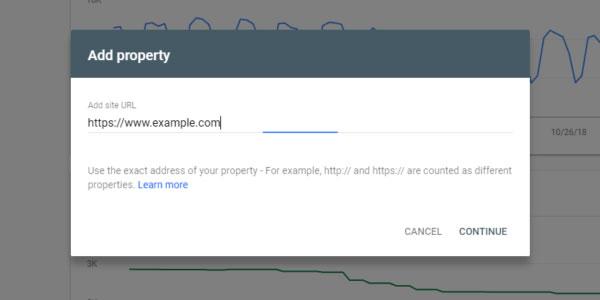 افزودن مالکیت در گوگل سرچ کنسول