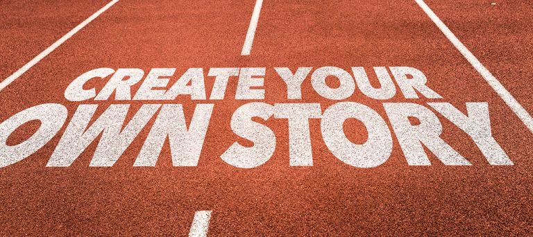 یک داستان خلق کنید.
