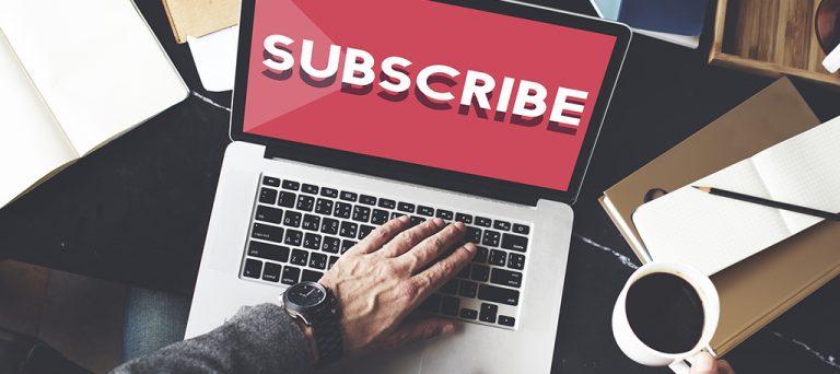 مخاطبان را به عضویت در سایت خود ترغیب کنید.