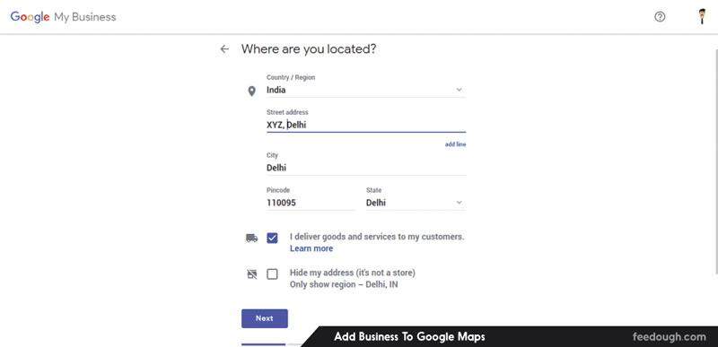 ثبت کسب و کار در گوگل مپ