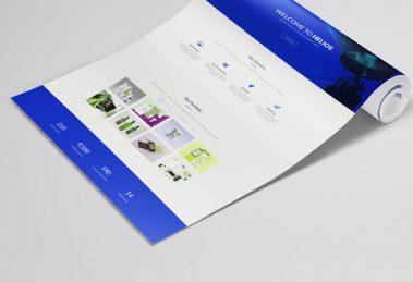 وب سایت تک صفحهای چیست؟ چه زمانی از وبسایت One Page استفاده میشود؟