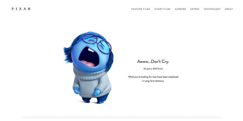 صفحه 404 Pixar