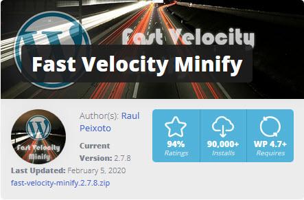 Fast Velocity Minify (رایگان